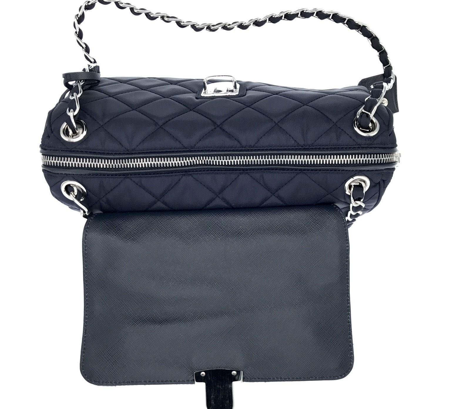 49918296fb85 Prada Tessuto Impuntu Crossbody Bag - Ontario Active School Travel