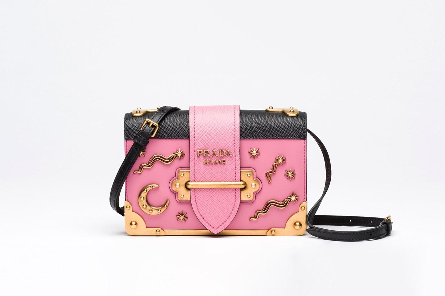 Sold Out Cahier Embellished Moon And Stars Leather Pink Cross Body Bag -  Replica Prada Bags on Sale From Manufactures Outlet 5b4978d7a4d5a